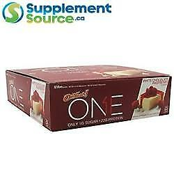 OhYeah ONE PROTEIN BAR, 60g x 12 Bars/Box - 14 Flavours