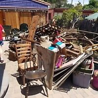 JUNK & debris removal/moving out cleaning/shed & deck demolition