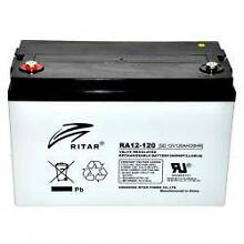 RITAR RA12-120SD Deep Cycle AGM Rechargeable Battery Caboolture Caboolture Area Preview