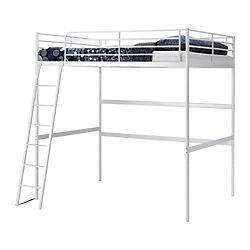 Ikea Loft Bed with Mattress