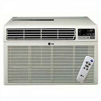 Air conditioner, 8000 BTU, window, LG  LW8000CS