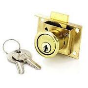 Brass Drawer Lock