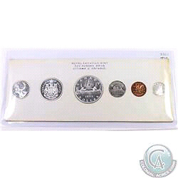 1960 CANADA SIX COIN SILVER PROOF-LIKE SET - MINT CONDITION!!!