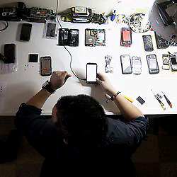 Vitre écran iPhone 5s 6s plus 7 8 plus réparation Samsung s7 s8