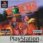 Worms Platinum (PS1 tweedehands game)