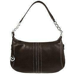 Brighton Leather Handbag/Purse Excellent beautiful black leather brighton handbag purse with brown croc accent. brighton handbag/handbags/purse. If you are looking for some exciting bidding offers, check out this. This is an ama See complete description.