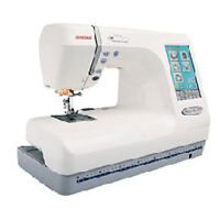 Janome Memory Craft 10001 Sewing & Embroidery Machine