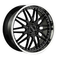 "MAGS BAD BOY MARSHALL NOIR/STAINLESS LIP 18"" 5X114.3"
