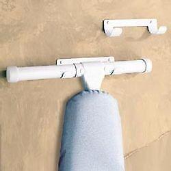 PRESSTO VALET Heavy Duty Ironing Board Hanger Wall Mount - W