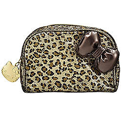 Sephora Hello Kitty Wild Thing Cosmetic Makeup Bag-Limited Edition Brand New