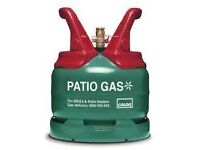 BBQ Gas. Calor Propane Patio Gas Bottle 5Kg Size - Atleast 3/4 Full