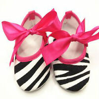 New- 12-18 months Soft Sole Cotton Crib Shoes/Booties