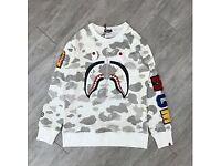 Bape sweater WGM white camo