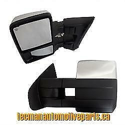 Towing mirrors trailer tow mirrors for Ford F150 2007 2014 Chrome
