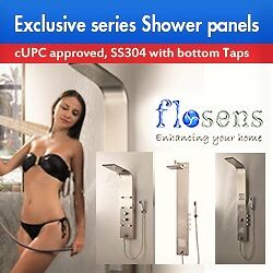 Shower Panels, Exclusive series, cUPC,
