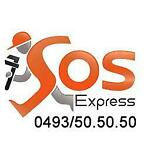 Sos Express Plombier 2424 - depannage urgent -0493-50-50-50