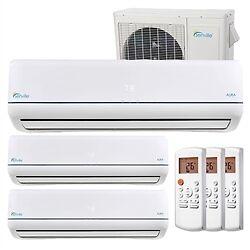 27000BTU Tri Zone air conditioner with Inverter SEER 23