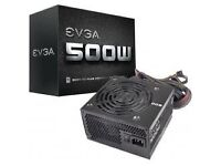 500W - EVGA 80+ White Rated Power Supply (New)