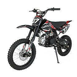 NEW 110cc and 125cc Apollo Dirt Bikes