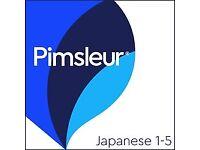 Pimsleur Japanese audio cds