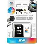 Silicon Power High Endurance MLC Micro SDHC incl. SD Adapter
