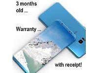 3 month old Samsung Galaxy S8 Plus 6GB RAM 128GB Storage in Coral Blue SM-G550