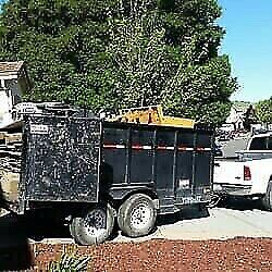 Junk removal 329-4449 moving out cleanups/shed-deck demo