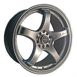 17 inch GT-Racing Wheels -- Volk Style Wheels -- 5x100 / 5x114.3