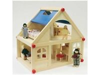 Brand new Marionette Wooden doll house