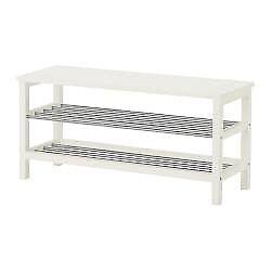 Tjusig bench and shoe rack