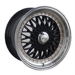 16 inch BBS RS Wheels -- 16x9 -- 5x100 / 5x112 +20 Offset