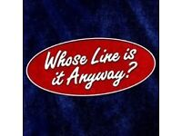 Whose line is it anyway - Edinburgh Fringe - this Friday