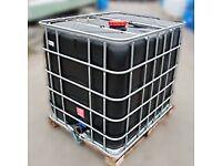1000 litre black ibc tanks