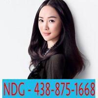 Nouvelle administration - 30$ Massage par thérapeutes asiatiques