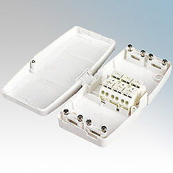 J804 17th Edition Maintenance Free 4 Terminal Junction Box For Lighting 20A