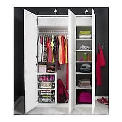 Ikea pax bergsbo frostglas  pax wardrobe in Sydney Region, NSW | Wardrobes | Gumtree Australia ...