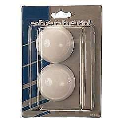 2-Pack Shepherd Hardware 9568 White Cushion Doorstops