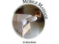 Mobile Massage in Surrey and South London areas. Quality Deep Tissue, Sports and Swedish Massage!