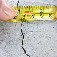WET BASEMENTS?- CONCRETE FOUNDATION CRACK REPAIR -SAME DAY $179