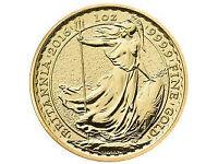 wanted gold sovereign britannia