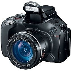 Canon Powershot SX40 HS 35x Zoom 12.1 MP Digital Camera w/ 2.7 Vari-Angle LCD