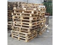 Wooden pallets - Free to good home - Take one or take all.