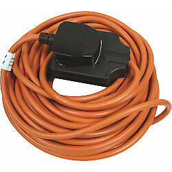 Heavy Duty ( 8m/26ft ) Outdoor Extension Cable - ( New ) Never opened