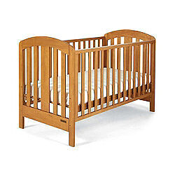 NEW MAMAS AND PAPAS FERN PINE COTBED  BABY COT BED NURSERY