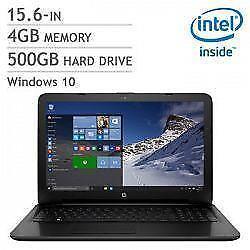 HP 15-ac103ca - Intel Pentium N3700 1.6 GHz - 4 GB RAM - 500 GB HDD - Windows 10