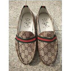 GUCCI STYLE LOAFERS/DRIVING SHOES- SIZE 9