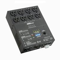 2 x 4 Channel DMX Dimmer Pak ED15