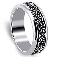 Lost men's silver spinner ring - Riverview or Coliseum area
