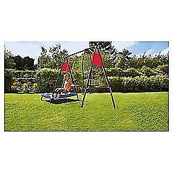 Brand new Tesco 3 in 1 garden play-set / trampoline, swing, glider