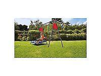 Brand new Tesco 3 in 1 garden play-set / trampoline, swing, glider